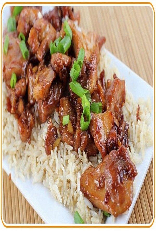Easy Chinese Garlic Chicken Stir Fry Recipe
