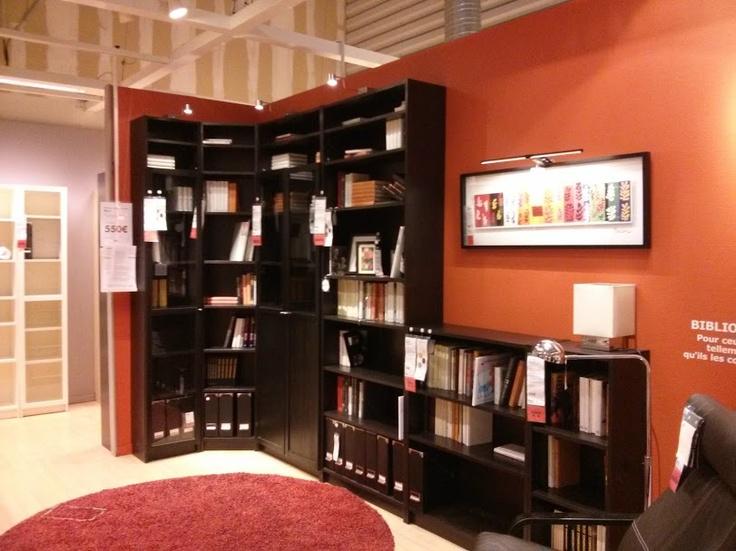 Lovely Magasin Ikea Ile De France #6: Magasin IKEA Franconville, France. Coin Billy.