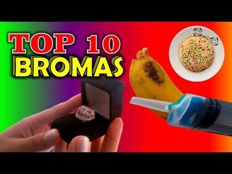 TOP 10 BROMAS - Bromas para hacer a tus amigos #bromas #pranks #funny #lol #jokes #easy #divertidas