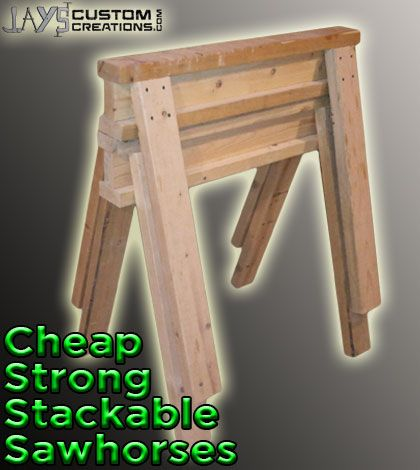 How To Build The Best Saw Horses