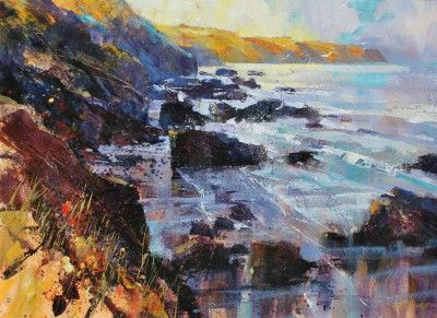 Chris FORSEY-Early Sunshine, North Cornwall
