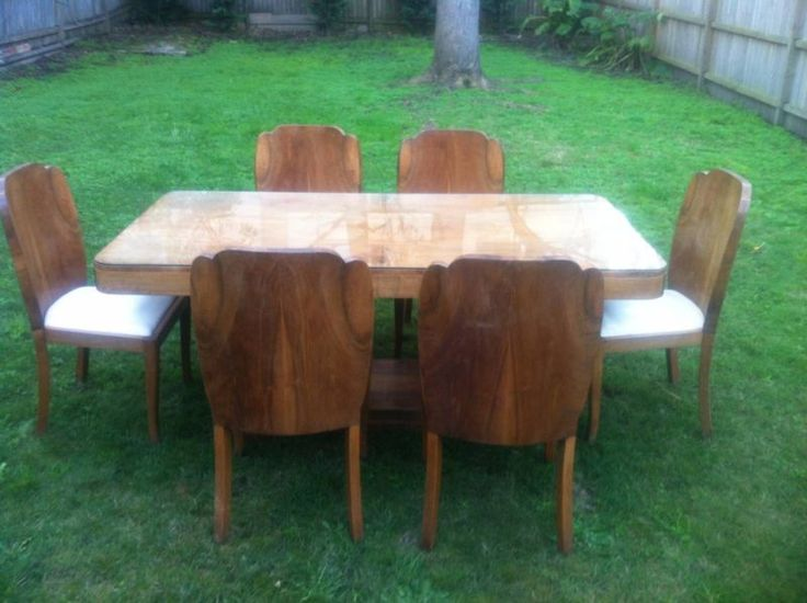 art deco dining table and chairs antiques gumtree australia north