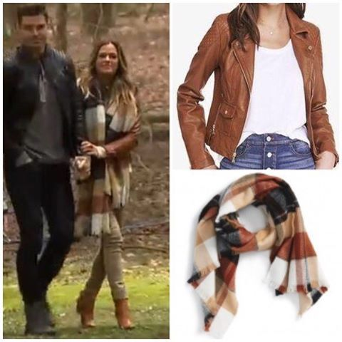JoJo Wore An Express Jacket And Nordstrom BP Scarf Last Night On The Bachelorette Shopping Info