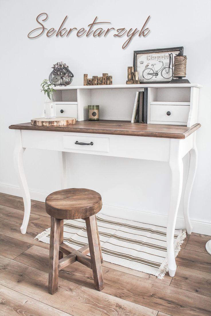 Home on the Hill - blog lifestylowy - wnętrza, inspiracje, kuchnia, DIY: Sekretarzyk własnoręcznie zbudowany.