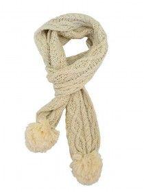 Aran Knit Scarf PF7290