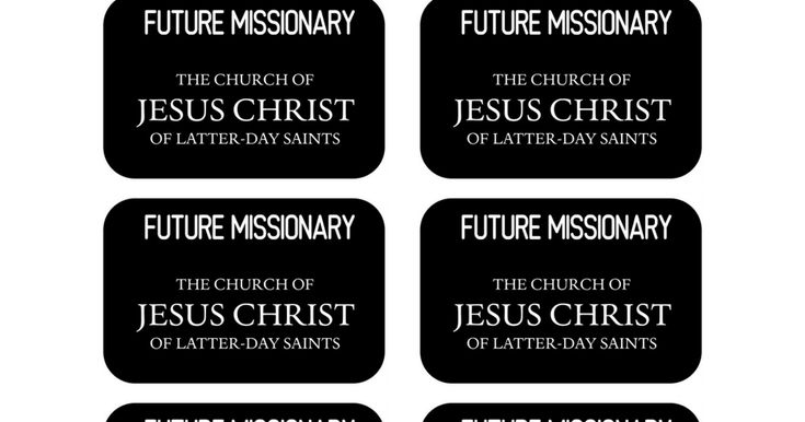 mormon missionary name tag template - 17 best images about primary on pinterest missionary