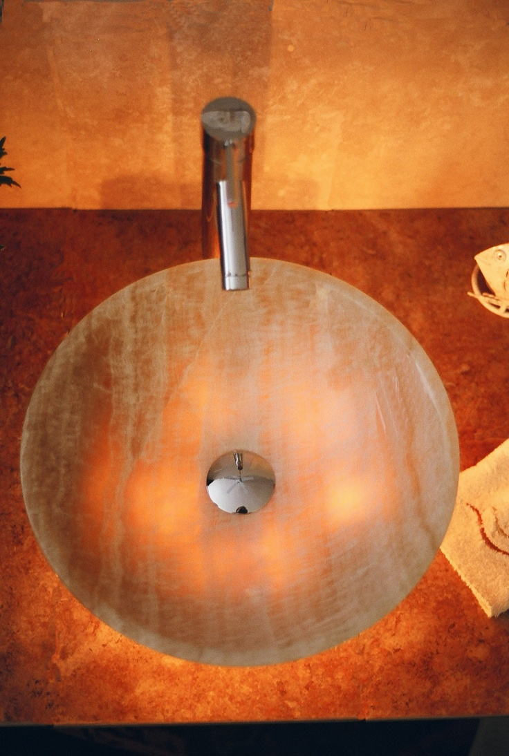 You are now looking down at one of D vontz best selling Vessel Sink 48 best Sinks We Love images on Pinterest   Bathroom ideas  . D Vontz Natural Marble Vessel Single Sink Bathroom Vanity Top. Home Design Ideas