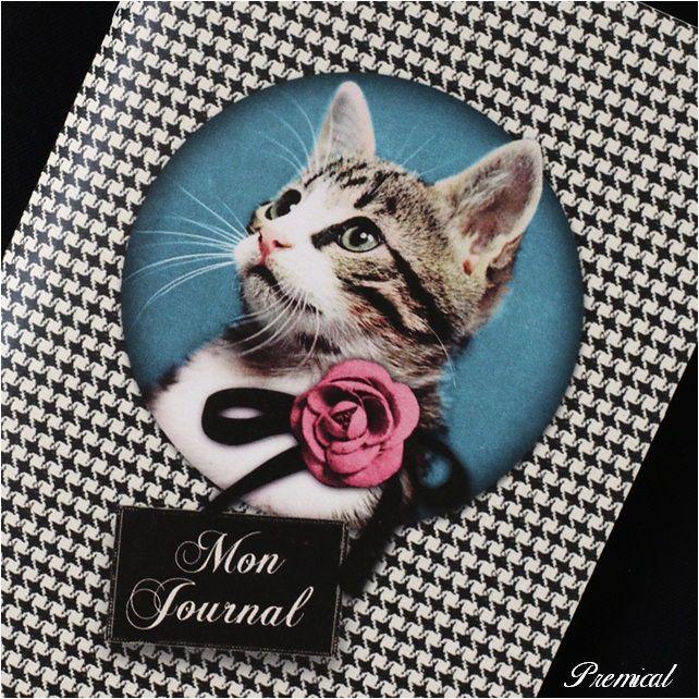 【LES CAKES DE BERTRAND-レ・ケーク・ド・ベルトラン】ミニノート(cat)