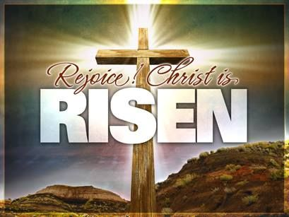 Christ is risen! - He is risen indeed!