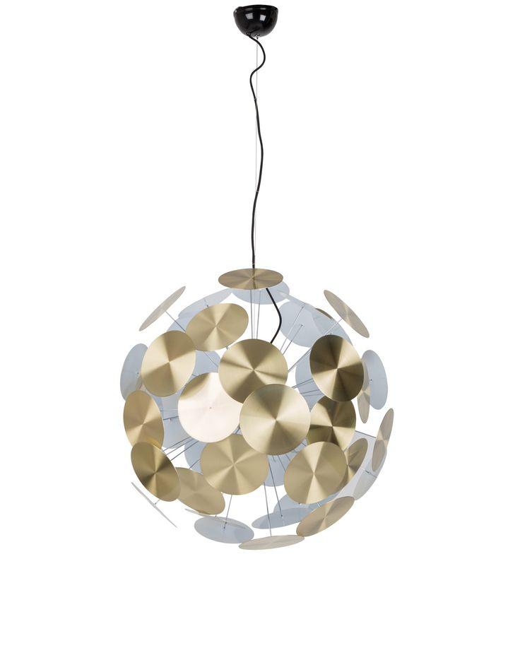 Zuiver :: Lampa wisząca Plenty Work mosiężna 5300082 | 9design.pl Warszawa