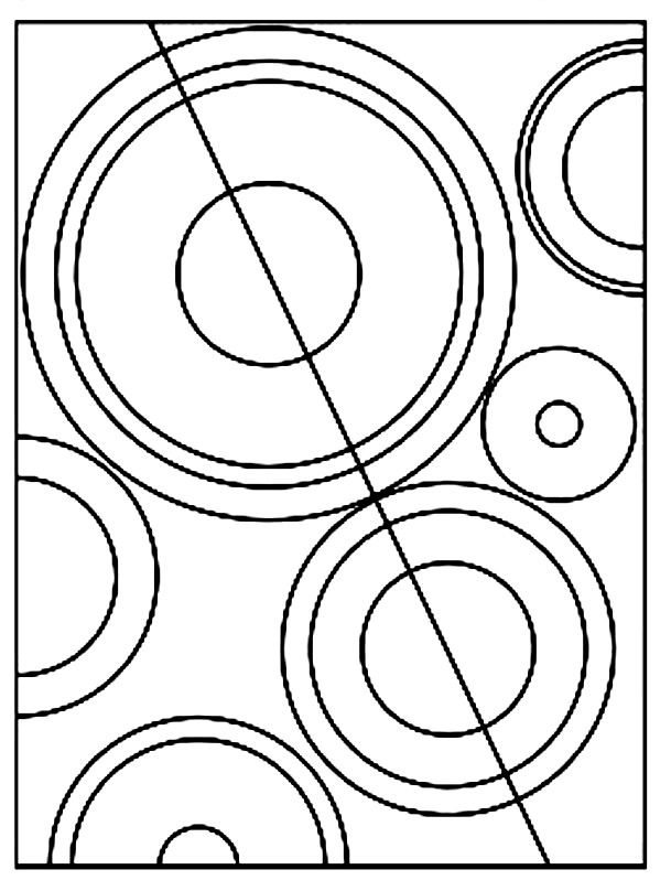 Practicing shapes and colors with sonia delaunay - Coloriage delaunay ...