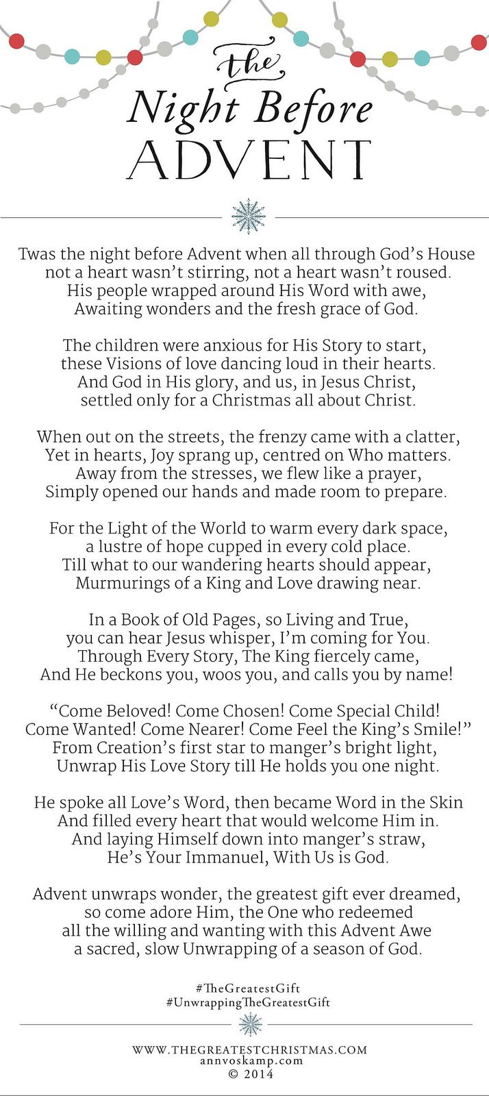 Christmas poems for church programs - What You Need To Get Through The Darkest Days Of The Year Light Your Way From Advent To Christmas