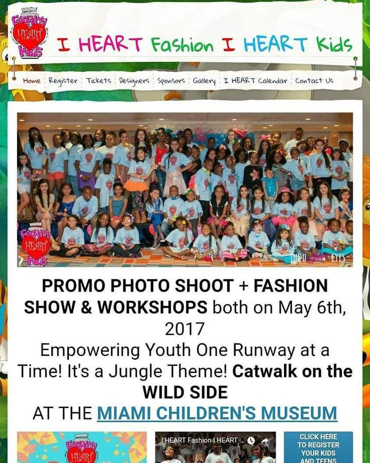 Children's Fashion Show Saturday May 6th 2017 Register Online Today http://ift.tt/1wq2g17  #childrensfashion #youthempowerment #selfconfidence #kidsfashion #selfworth #selfexpression #miami #antibullying #kidsmodel #catwalk #broward #designers @fashiondesignersexpo #fdeintl #thrujeneyes @miamichildrensmuseum @nataliegail @munchkinfun @fashionforcharity #fashion #wildside #fundraising #swtheavenyeah #GiveTheGiftOfSweeties #SwtRelief #SwtFace #Swt17 #kids #teen #artists