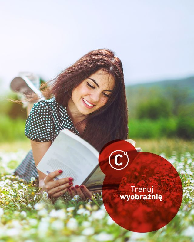 Czy zdajecie sobie sprawę, że trenując swoją wyobraźnię możecie dużo łatwiej pokonywać trudności? Wytrenowany w szukaniu nowych metod i rozwiązań umysł ma łatwość w poszukiwaniu nieutartych ścieżek, które mogą nas zaprowadzić na szczyt. Jak trenować wyobraźnię? Wbrew pozorom to dość proste - czytając książki, bujając w obłokach i… marząc. Ale marząc tak, żeby wyobrazić sobie ze szczegółami najpiękniejsze rozwiązania trudnych sytuacji. Spróbujcie :) A może już jesteście profesjonalistami…
