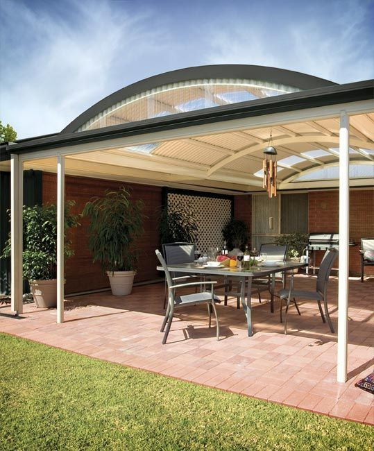 Pinterest the world s catalog of ideas for Carport deck