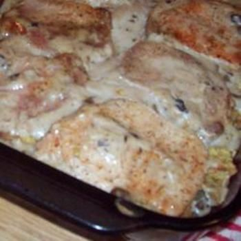 Apple Pork Chop Casserole Recipe