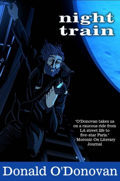 Written on twenty-three legal pads while homeless in the streets of LA, Night Train takes us on a journey detailing the plight of street people living in America. http://www.open-bks.com/library/moderns/night-train/night-train-cover.html