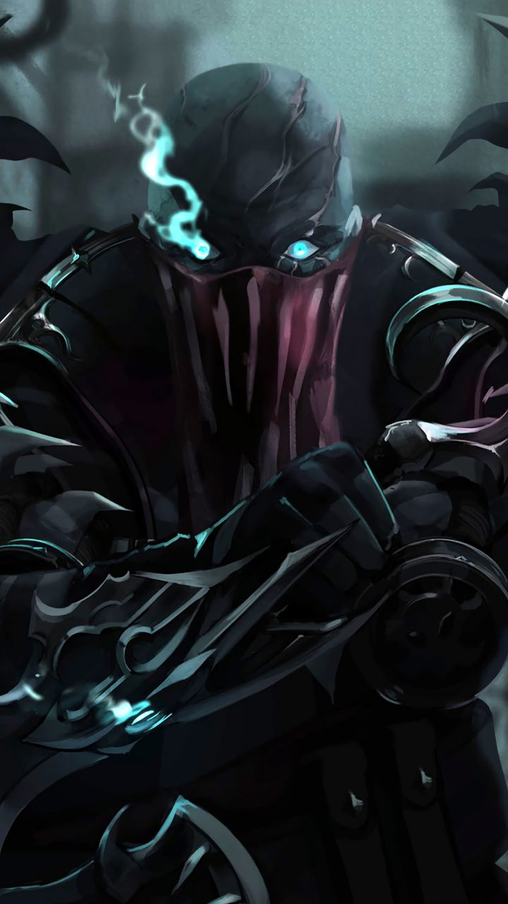 720x1280 Pyke, League of Legends, online game, art