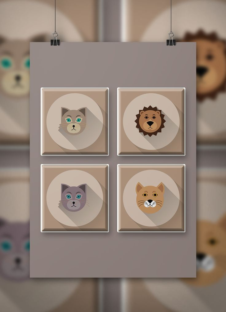 """Check out my @Behance project: """"Animal Icons - Golden Ratio"""" https://www.behance.net/gallery/25573185/Animal-Icons-Golden-Ratio"""