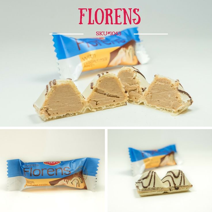 The Florens candy made in the form of two pyramids, each is filled with gently flavored cream with a pleasant taste of baked milk - not very sugary, homogeneous and very pleasant to the taste. Top of the candy decorated with chocolate stream.  Very tasty dessert and great for your break!   www.sweetify.ca ✉️ info@sweetify.ca  #sweet #candy #chocolate #treats #sweetify #vancouver #vancity #tasty #delicious #darkchocolate #europechocolates #teatimesnack #dessert #treatyourself #treattime…