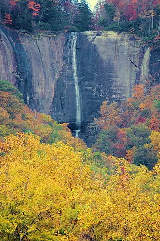 Hickory Nut Falls, Chimney Rock State Park, NC