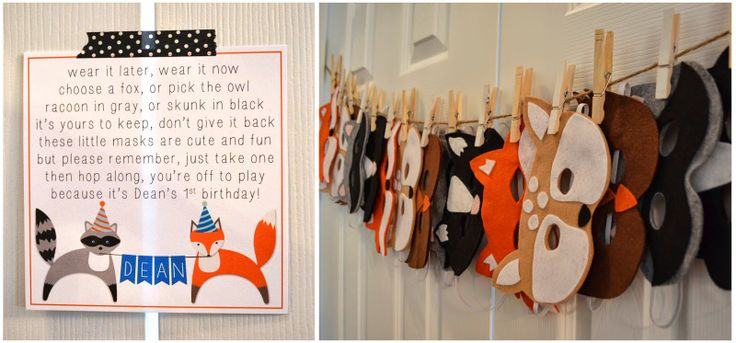 Kinzie's Kreations: A Foxy First Birthday Party!