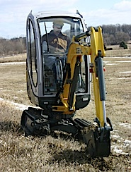 $275 a day. Magnetic Sweeper. Stump Grinder. Electric Jack Hammer. You know you wondered what big toys cost to play with.