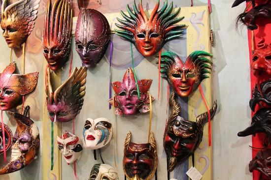 The Masks of Ca Macana
