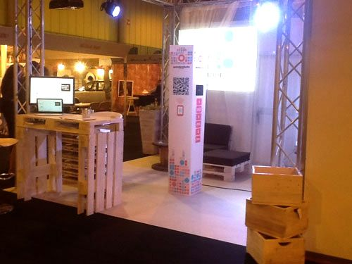 53 best images about dise o de stands con pallets on - Muebles de palets sevilla ...