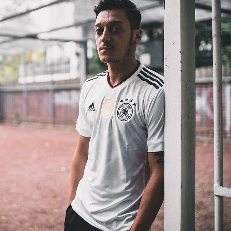 Fit for World Champions. Mesut Özil in the new adidas #Germany home kit. Available now at WorldSoccerShop.com!