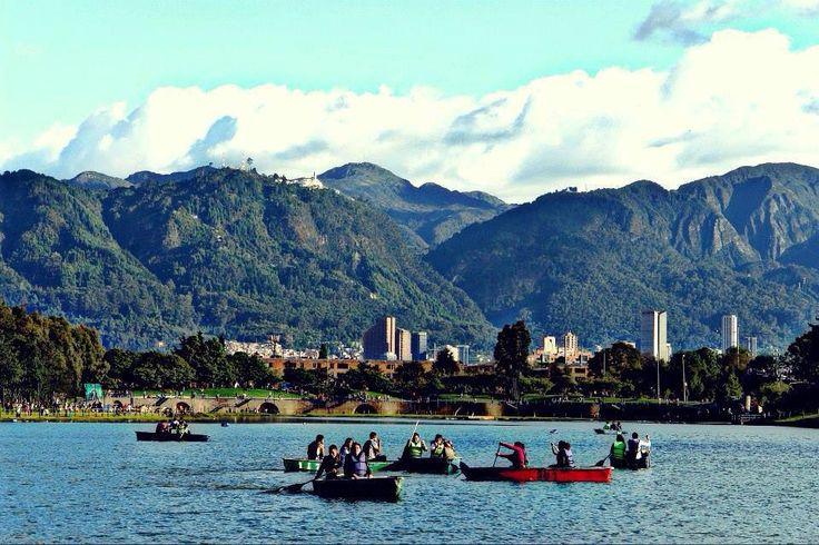 Bogotá, parque Simón Bolívar