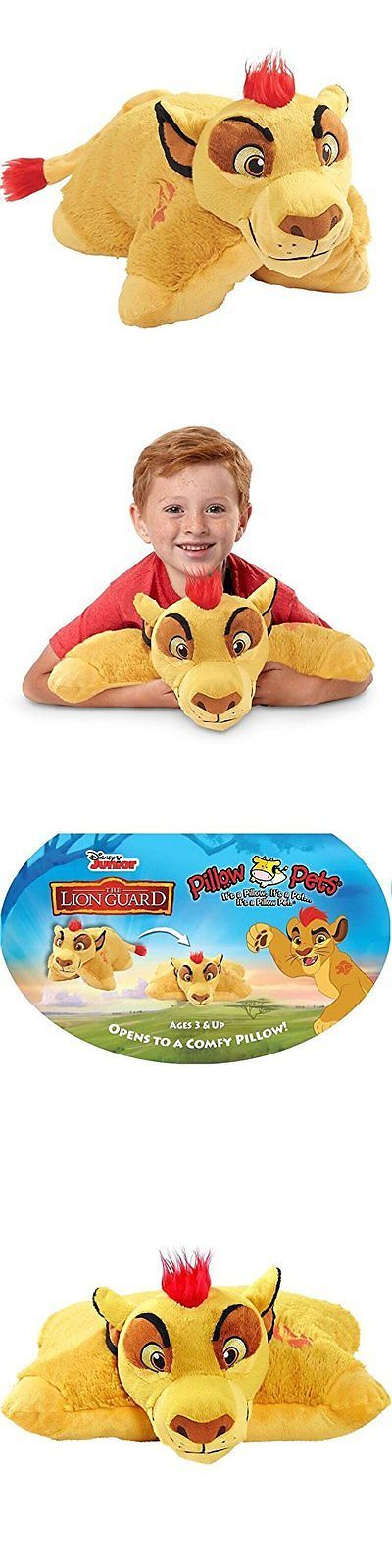Disney 2597: Disney Lion Guard Pillow Pets - Kion Stuffed Animal Plush Toy -> BUY IT NOW ONLY: $34.51 on eBay!