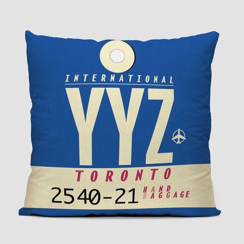 YYZ - Throw Pillow