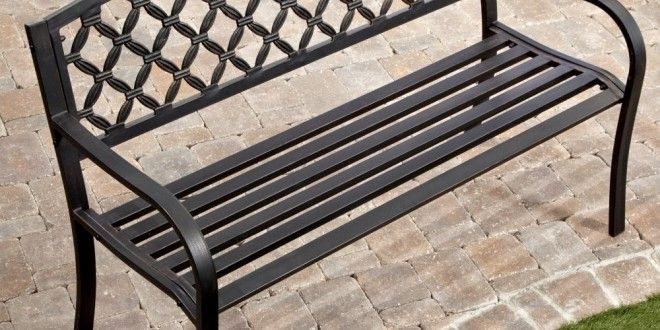 Crossweave Back 4-ft. Garden Bench Reviews Sales Discount and Cheap Price