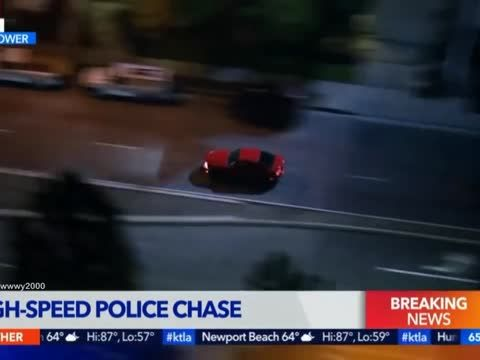 Los Angeles Police Chase (May 04, 2018) Los Angeles Police