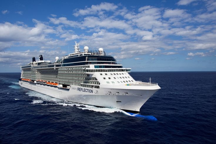 Celebrity Reflection - Aerial View