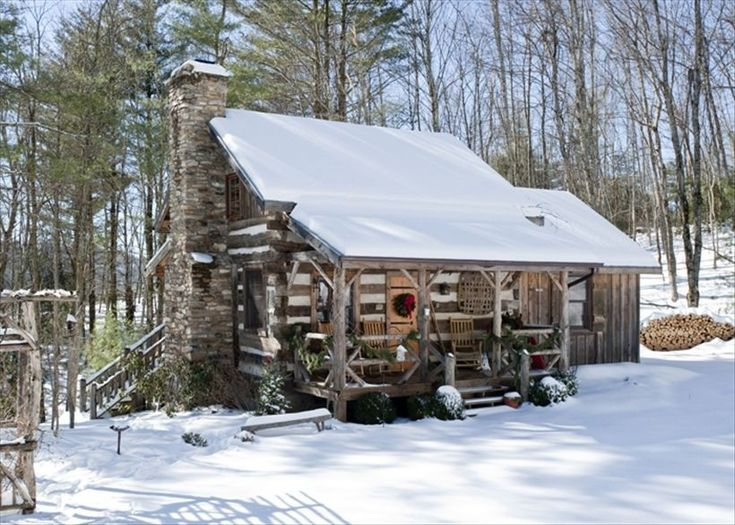 Boone Vacation Rental - VRBO 93419 - 2 BR Blue Ridge Mountains Cabin in NC, Antique Log Cabin-Near Boone-New Kitchen/Dsl/Hd TV