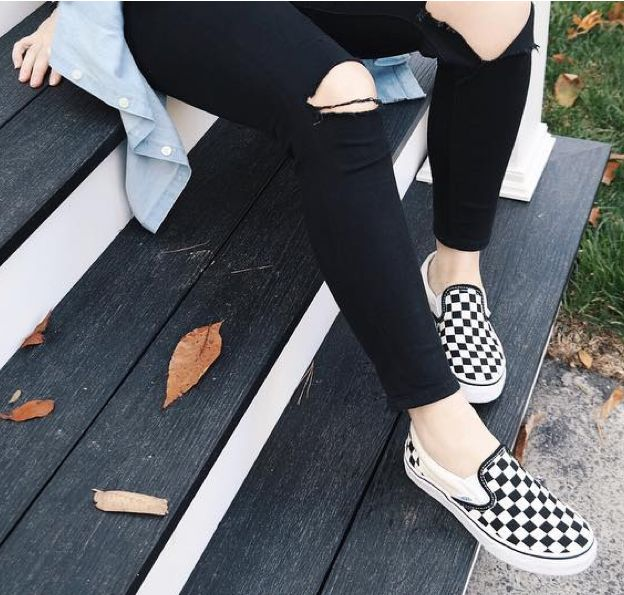 Check it out. # You're It: Five of our favorite Vans Girls photos from IG last week.  Tag vansgirls or #vansgirls on Instagram so we can post your photos here. And you never know, your photo may end up on vans.com!  Photo via @lessfacemorefashion on Instagram