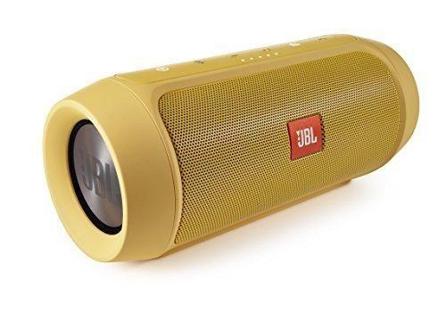 JBL Charge 2 Splashproof Portable Bluetooth Speaker (Yellow)