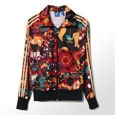 adidas - Chamarra Originals Maracatu Firebird Mujer multicolor M30781