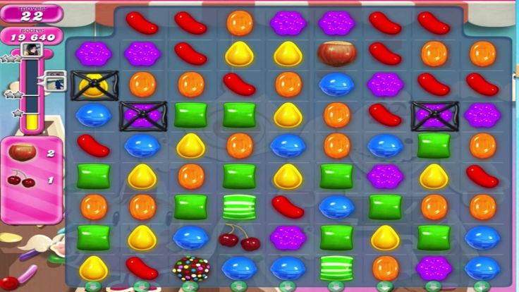 Playing Games - Candy Crush Saga Level 42 Without Booster