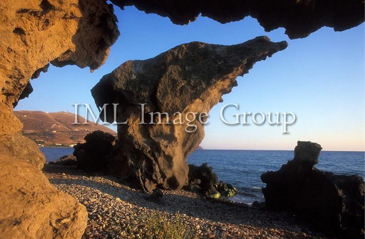 Rock..Lemnos, Northeastern Aegean Islands, Greece..©Roberto Meazza/IML Image Group