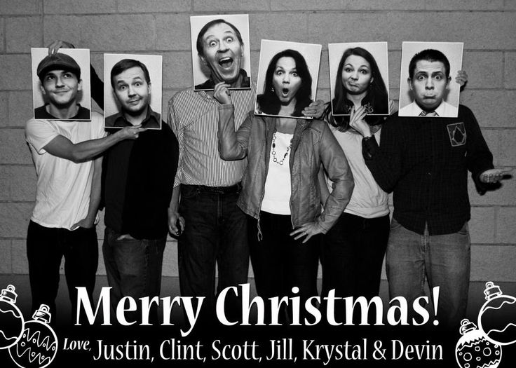 Our Christmas card this year! We took the face shots first, then took the group shot. It was lots of fun!