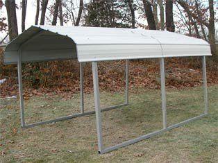mdm rhino shelters allsteel buildings rv steel carport in grey u003e rv storage boat - Steel Carports