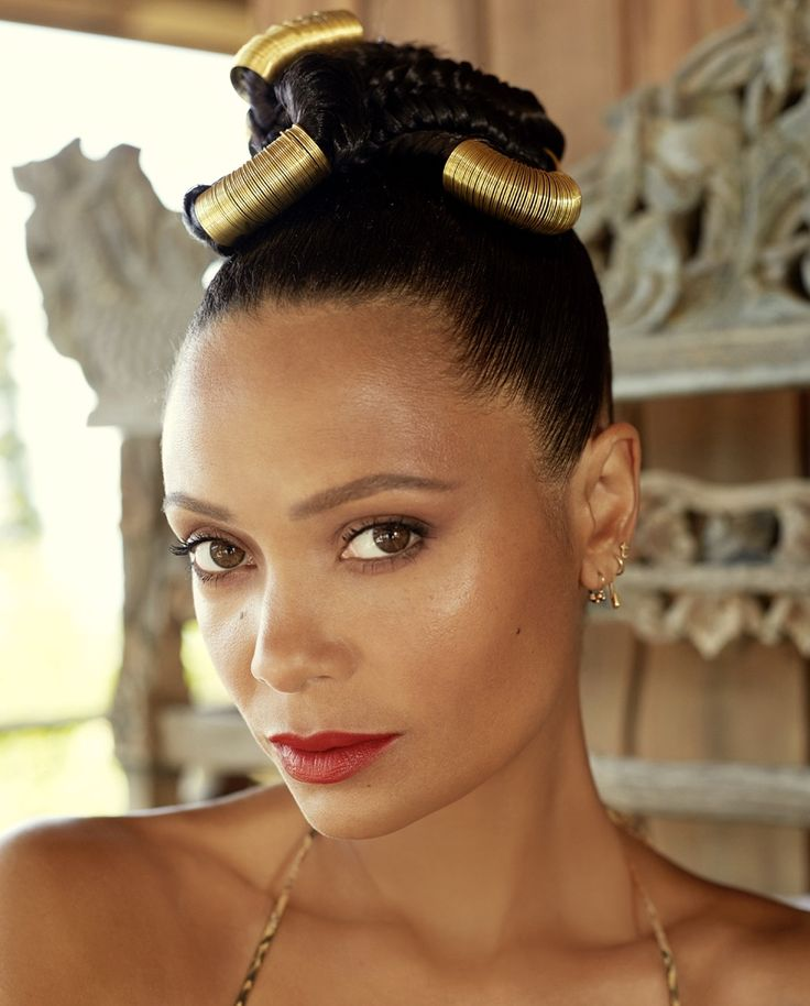 thandie newton by jackie dixon for new african woman • makeup by kay montano