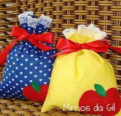 Mimos da Gil: sacolinhas