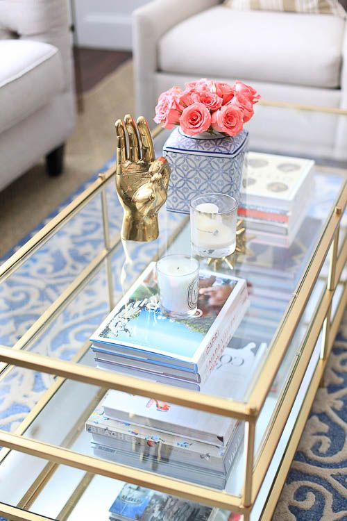 How To Style A Coffee Table   Coffee Table Styling