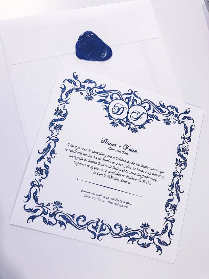 Invitation #blueandwhite #weddinginvitations #weddingdetails