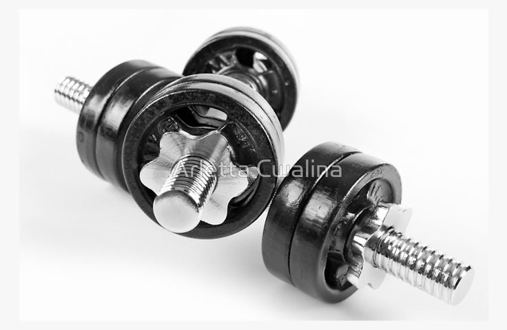 Chrome screwed hand barbells weights black color object on white background. #weight #weights #barbells #sport #gym #fitness #active #activelife #dumbbell #dumbbells #case #laptop #skin