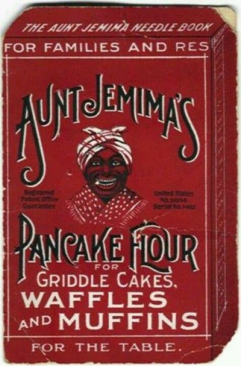 Old Time Aunt Jemima Pancake Flour Ad.